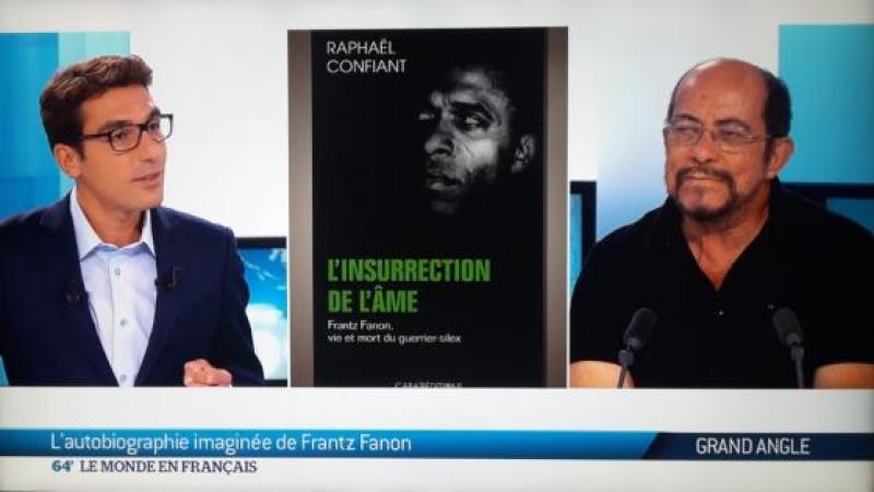 Raphaël Confiant parle de Frantz Fanon sur TV 5 MONDE
