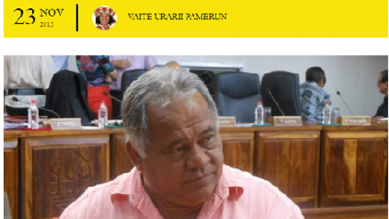 Polynésie, un territoire que l'état abandonne à la corruption