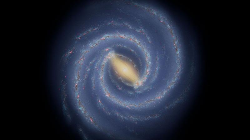 La Voie lactée a un bras cassé révèle le télescope Spitzer