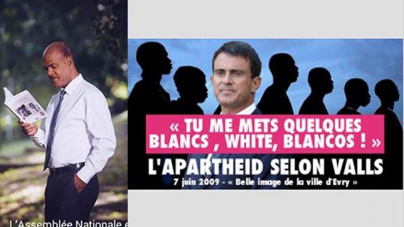 """Serge Letchimy et le PPM apportent leur soutien à la candidature du chef des """"Blancos"""", Manuel Valls"""