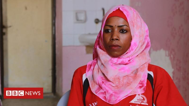 Gaza's history-making female runner