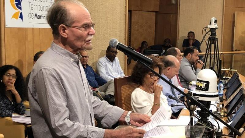 Budget Primitif 2018 : Déclaration introductive d'Alfred MARIE-JEANNE