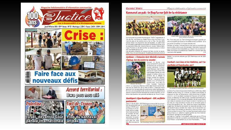 Plénière Assemblée de Martinique (04 et 05/2020) : tribulation des oppositions concurrentes