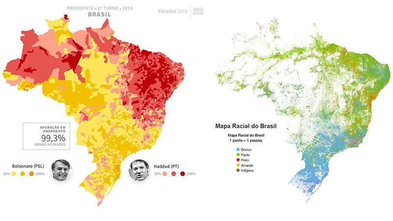 Elections au Brésil : les cartes qui expliquent tout