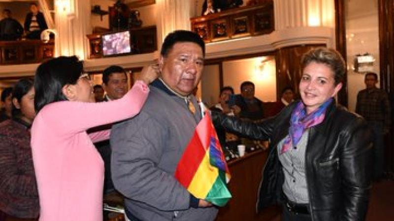 Bolivie: les députés du MAS ont atteint le quorum, défié le coup d'État et nommé nouveau président de la chambre
