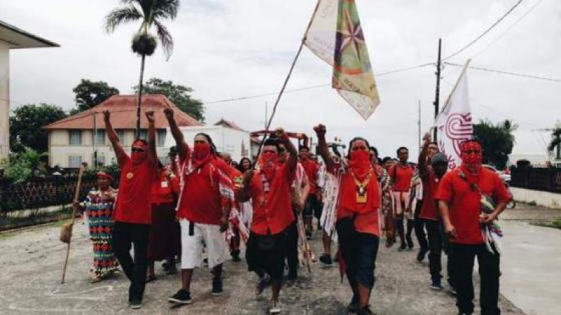 La jeunesse Autochtone de Guyane rejette le projet Montagne d'Or de la Columbus Gold