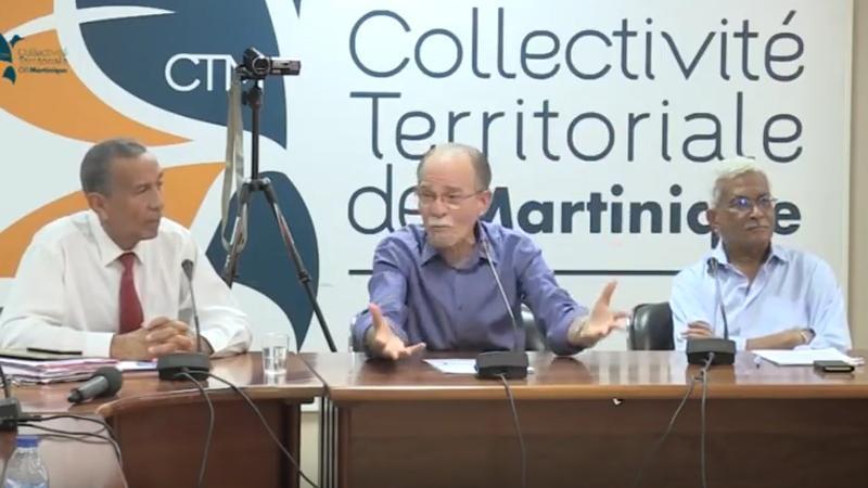Alfred Marie-Jeanne : préambule aux débats sur les orientations budgétaires de la Collectivité de Martinique