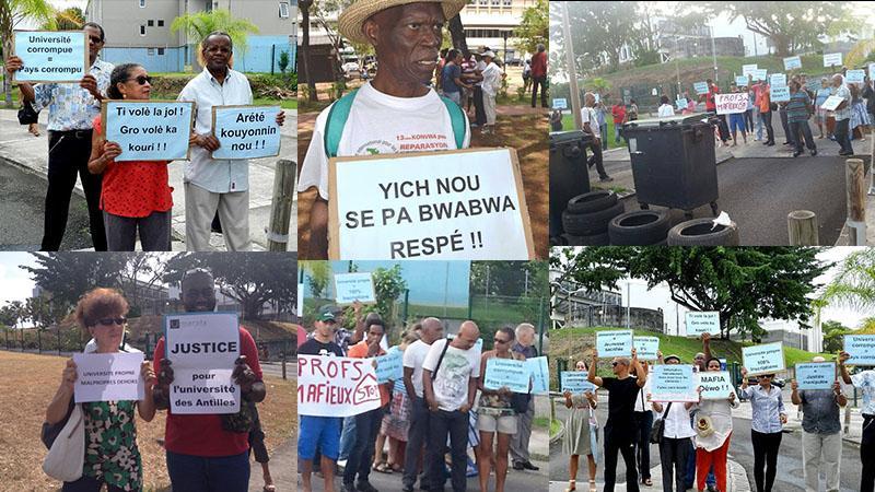 Honneur à celles et à ceux qui ont mené le combat contre la corruption à l'Université des Antilles (2è partie)