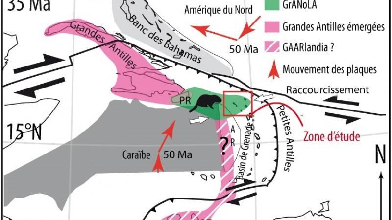 Granola : une grande île des Antilles aujourd'hui disparue