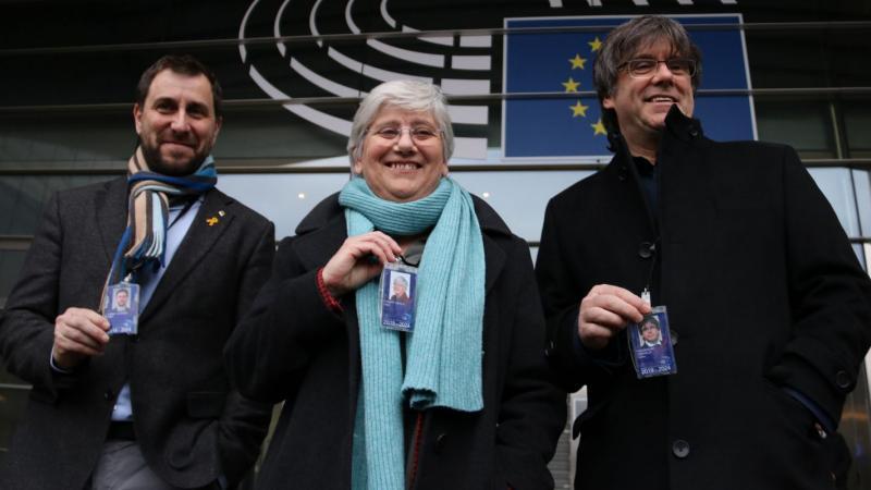 L'independentisme històric, amb Puigdemont