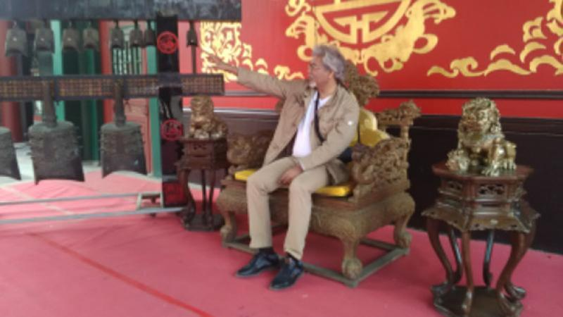 FRANCE-CHINE:  Macron sur les routes de la Soie, un échiquier d'importance