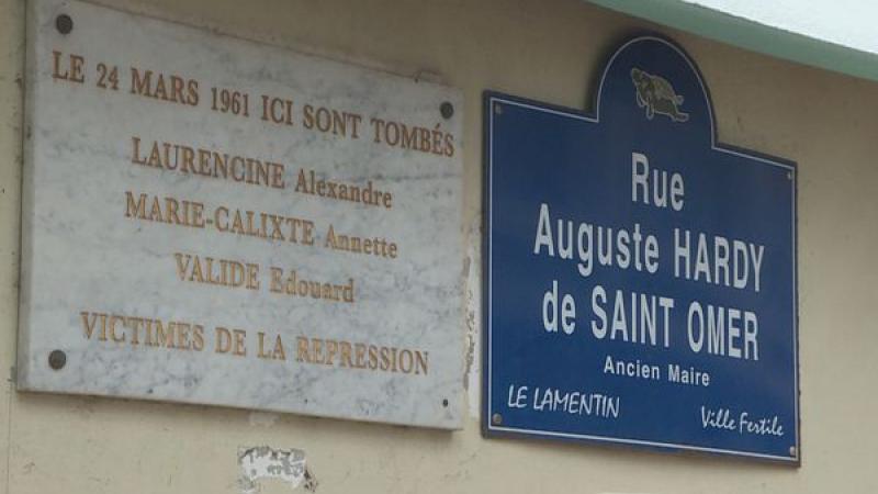 « Fusillade » du Lamentin : une autre histoire à côté de l'Histoire.