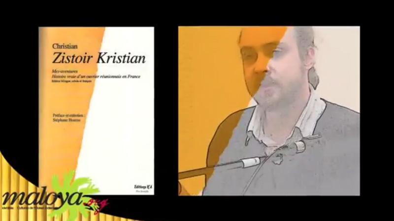 Zistoir Christian, histoire du premier roman en créole réunionnais (1977)