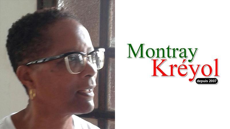 Nicole Massol soutient Montray Kréyol