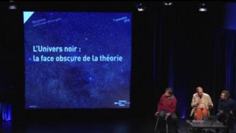 L'UNIVERS NOIR : LA FACE OBSCURE DE LA THEORIE D'EINSTEIN
