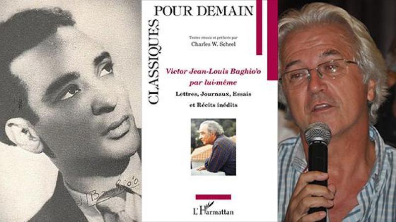 Le Pr Charles Scheel nous parle de l'écrivain guadeloupéen Victor Jean-Louis Baghio'o