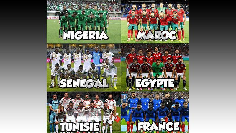 Mondial de foot : 6 équipes africaines en course pour le trophée