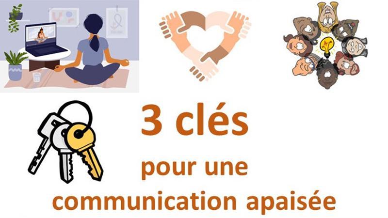 3 clés pour une communication apaisée