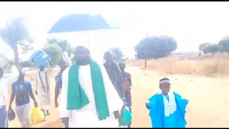 Statut de Jérusalem: Baye Mamoune Niass marche de Kaolack à Dakar pour protester contre la décision de Trump