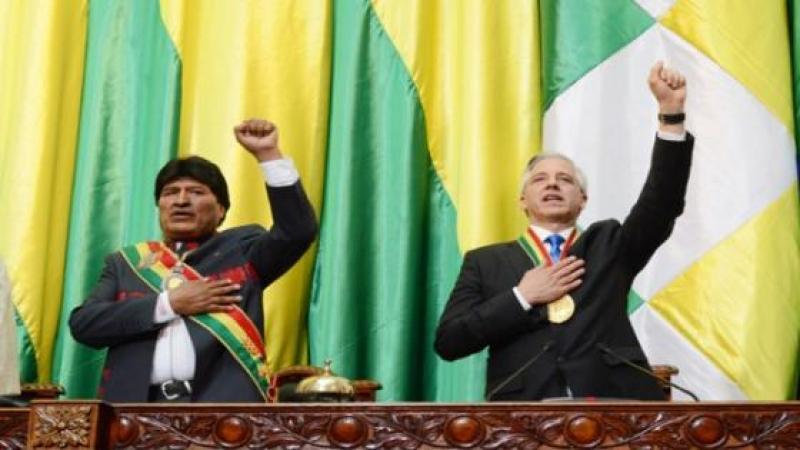 """GARCIA LINERA: """"LOS REVOLUCIONARIOS NO VINIMOS A ADMINISTRAR EL CAPITALISMO"""""""