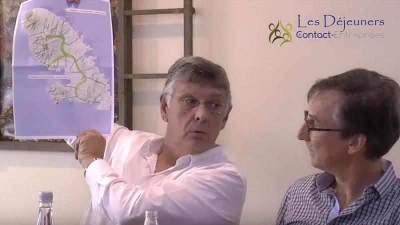 """""""La Grande Dorsale"""" du groupe Vinci pour...""""développer"""" la Martinique"""