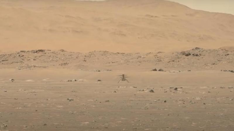 La NASA publie une vidéo haute définition du vol d'Ingenuity