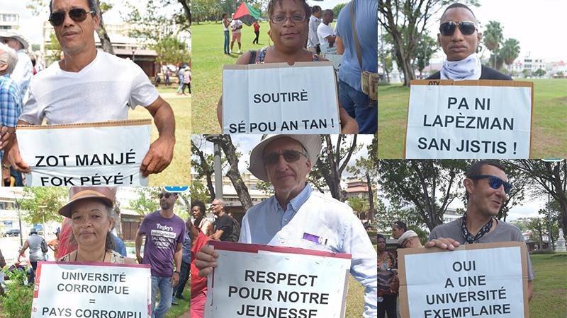 Honneur et respect à celles et ceux qui ont mené le combat contre la corruption à l'Université des Antilles (1è partie)...