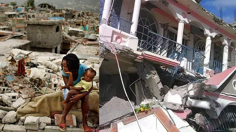 En Haïti, un séisme de magnitude 7,2 fait au moins 304 morts