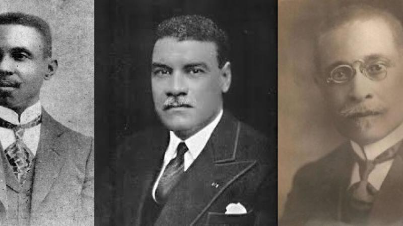 Les premiers auteurs haïtiens primés par l'Académie française