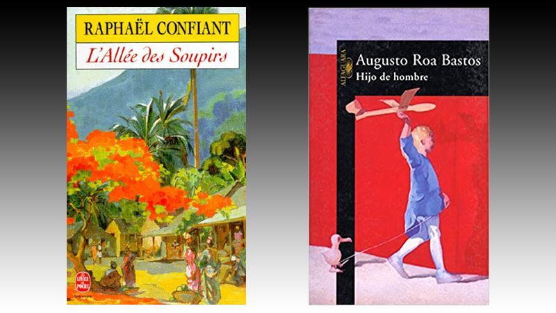 Langue littéraire  et bilinguisme diglossique : deux exemples comparatifs avec Hijo de hombre de Roa Bastos et L'allée des soupirs de Raphaël Confiant