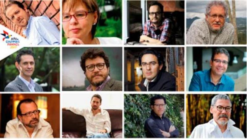 MAS DE 30 AUTORES COLOMBIANOS SERAN LEIDOS EN FRANCIA