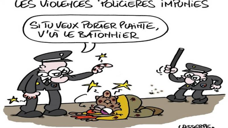 Chroniques de la Colonialité : Les violences psychologiques policières
