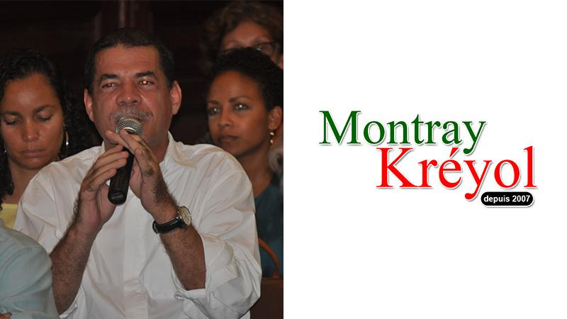 "Gerry L'Etang : ""Pour Montray Kréyol"""