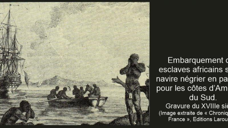 « Journal de bord d'un négrier » Jean-Pierre PLASSE (1762)