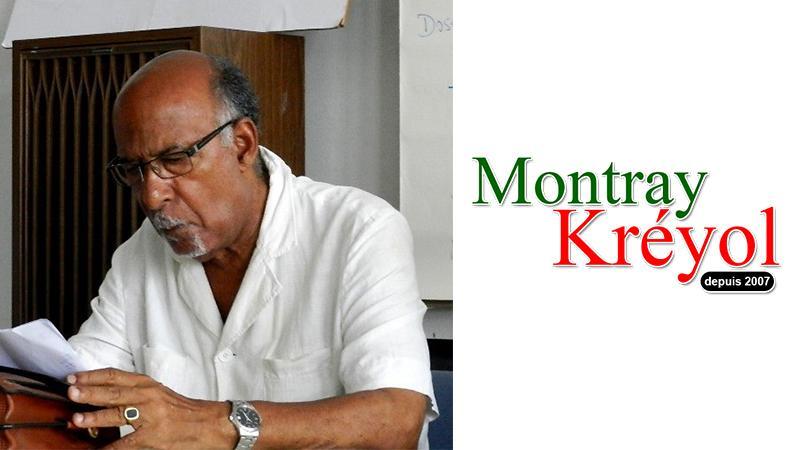 Daniel Boukman soutient Montray Kréyol