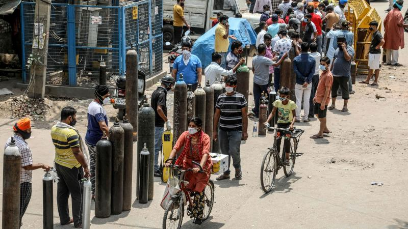 India's Crisis Marks a New Phase in the Pandemic