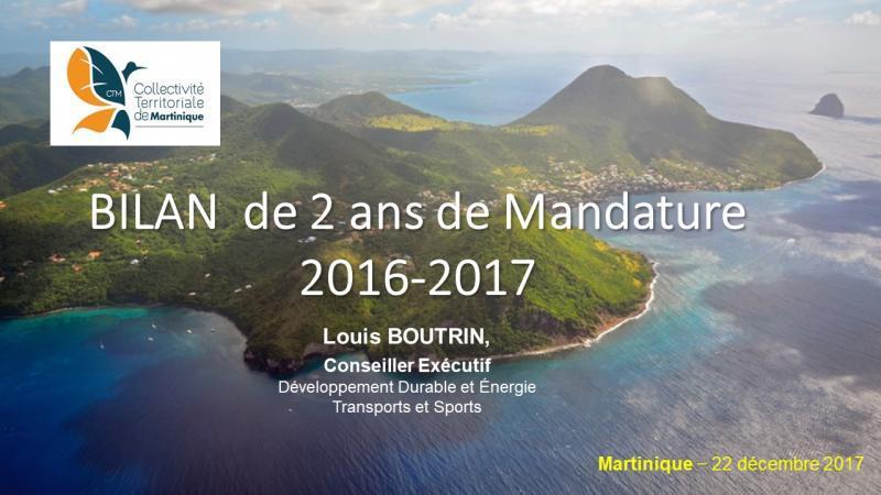 CTM - LOUIS BOUTRIN : BILAN DE DEUX ANS DE MANDATURE 2016-2017