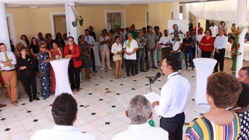 PARC NATUREL DE MARTINIQUE : LES VOEUX 2019 DU PRESIDENT LOUIS BOUTRIN