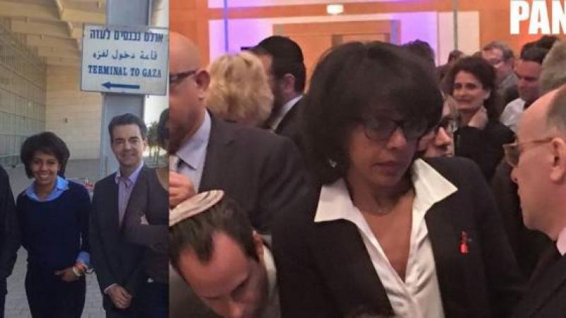 AUDREY PULVAR ASSUME SA CONNEXION AVEC L'EXTRÊME DROITE ISRAÉLIENNE. (PANAMZA)