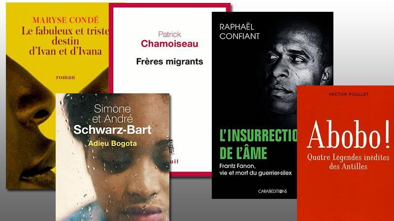 Les 10 livres francophones antillais de l'année 2017