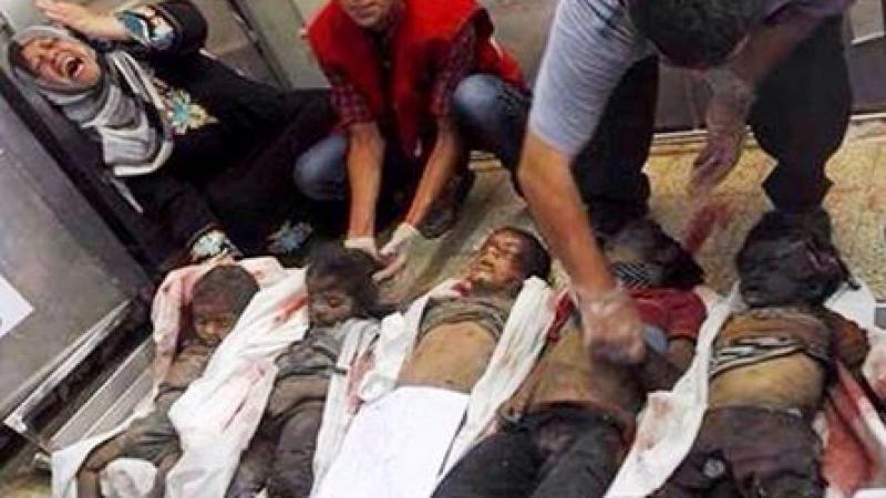 Israël a régulièrement utilisé du phosphore blanc dans le bantoustan de Gaza sans réaction des Occidentaux