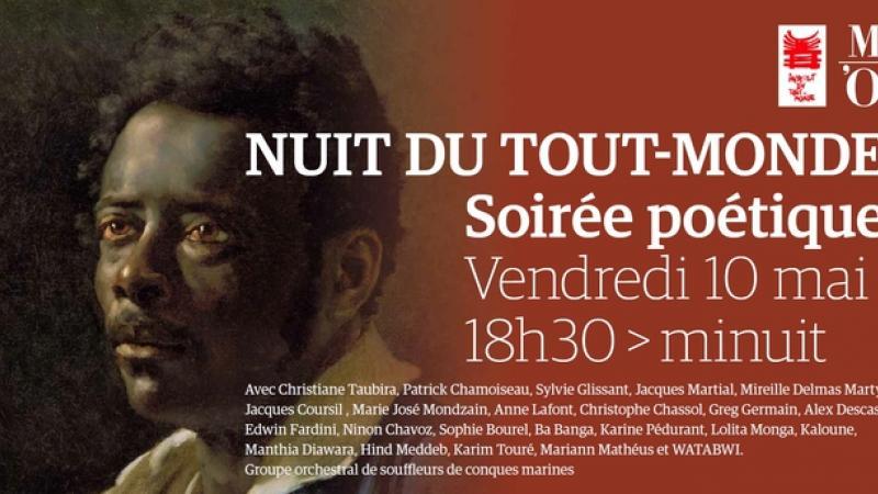 NUIT DU TOUT-MONDE au Musée d'Orsay, vendredi 10 mai 2019
