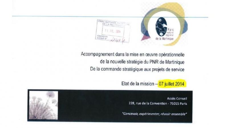 PARC NATUREL : UN AUDIT DE JUILLET 2014 REVELE LE MANAGEMENT CALAMITEUX DE R. BRITHMER