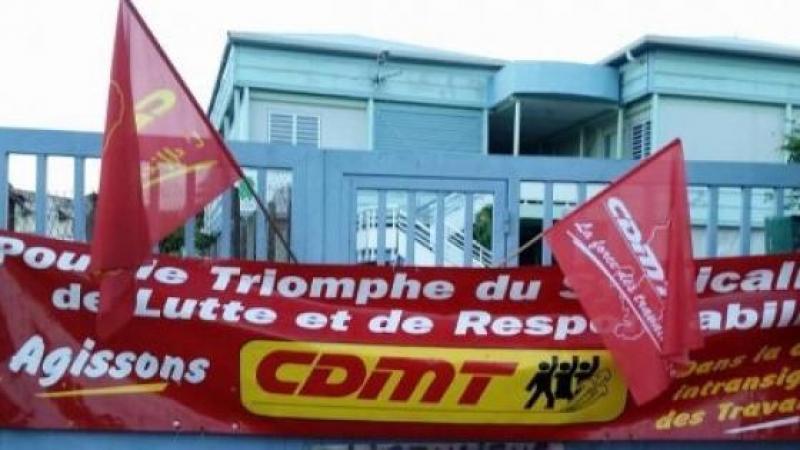 CARTON ROUGE POUR LE SYNDICAT CDMT...CTM !