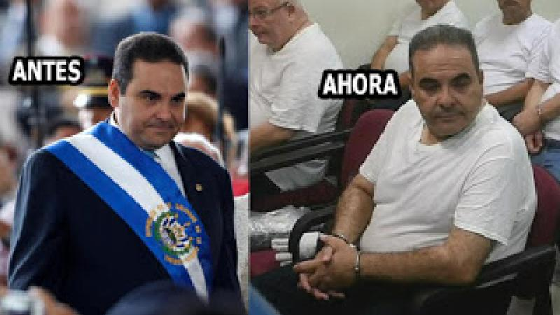 Deberá devolver 260 millones de dolares y fue condenado a 10 años ex-presidente del Salvador