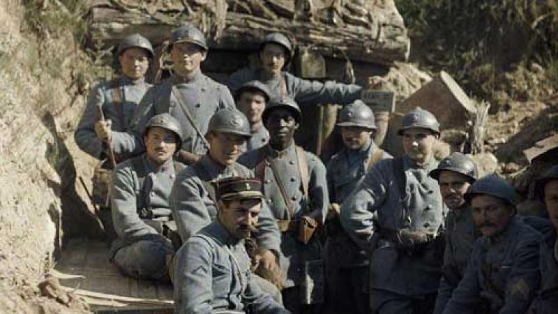 """""""Chantons en choeur l'hymne créole, les Guyanais, les Antillais sont fiers d'être soldats français..."""""""