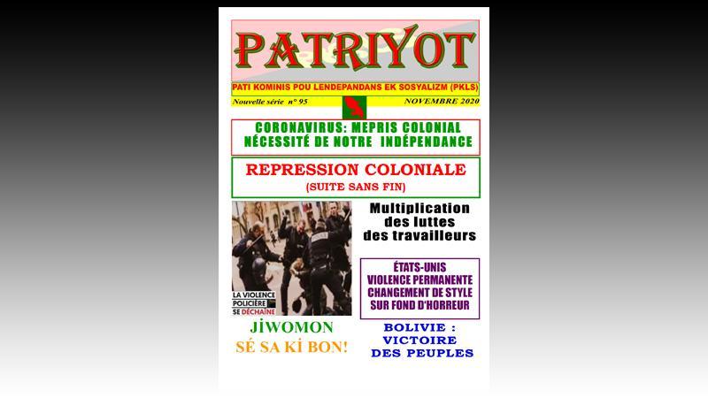 Patriyot #95 Novembre 2020