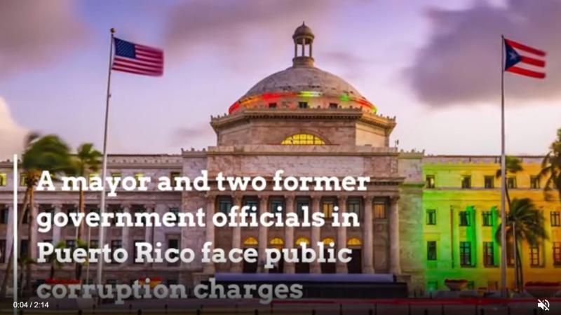 Un maire de Porto Rico et deux autres responsables du gouvernement arrêtés pour corruption