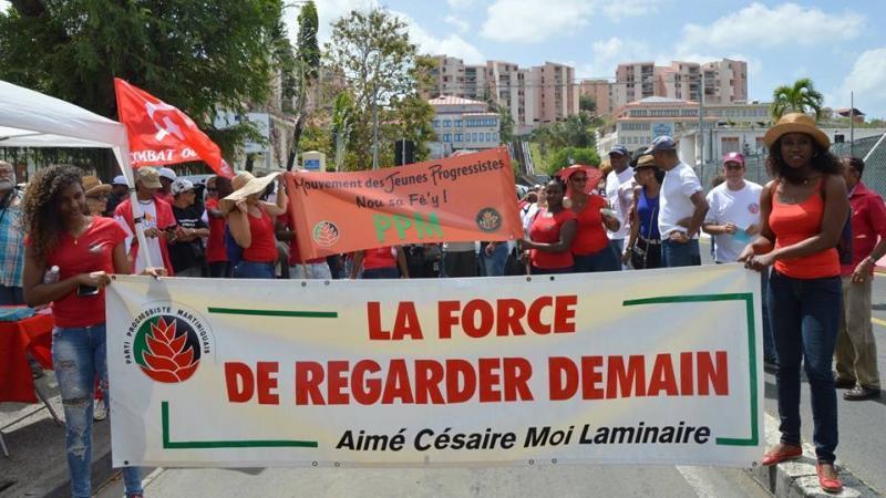 PPM (Parti Progressiste Martiniquais) épi lang kréyol la