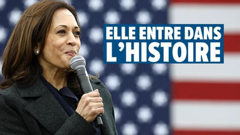 De Kamala HARRIS, vice-président aux côtés de Joe BIDEN élu Pdt des USA